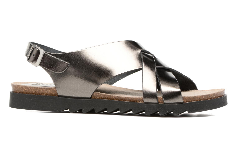 Sandales et nu-pieds TBS Tressie Or et bronze vue derrière