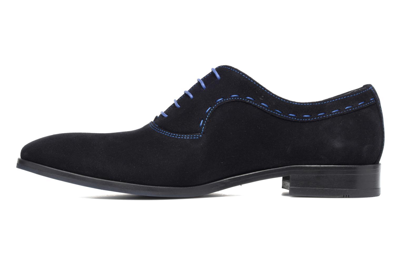 Chaussures à lacets Brett & Sons Cheston Bleu vue face