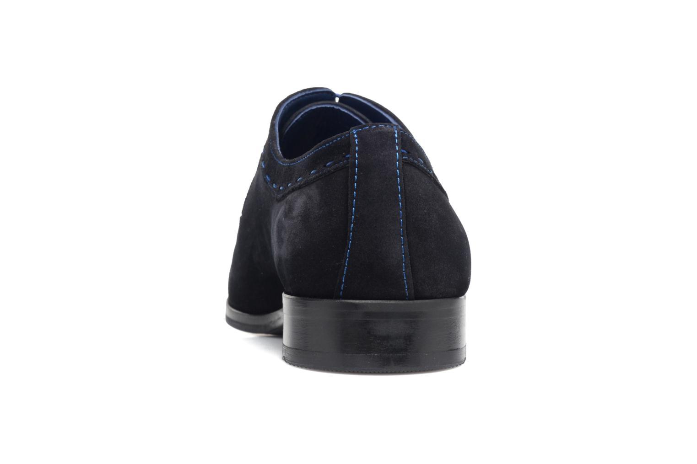 Chaussures à lacets Brett & Sons Cheston Bleu vue droite