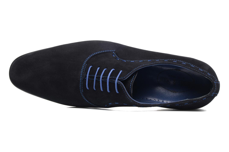 Chaussures à lacets Brett & Sons Cheston Bleu vue gauche