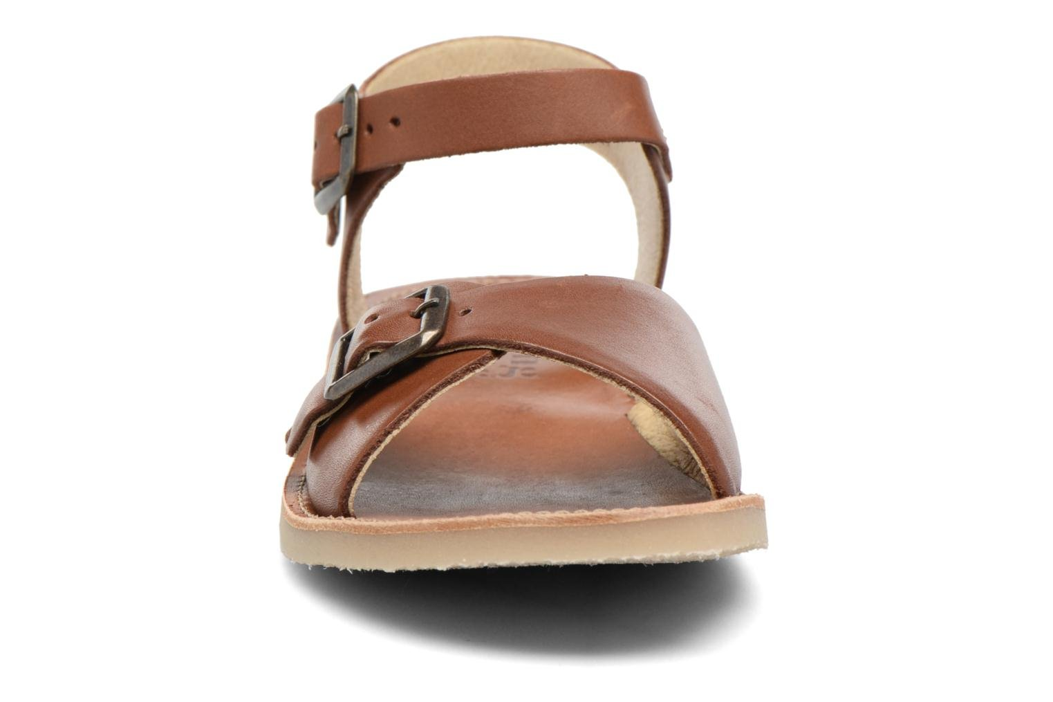 Sonny Chestnut Brown Leather