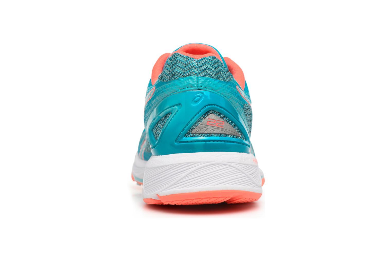 Zapatillas de deporte Asics Gel-DS Trainer 22 W Azul vista lateral derecha