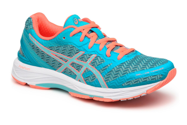 Chaussures de sport Asics Gel-DS Trainer 22 W Bleu vue détail/paire