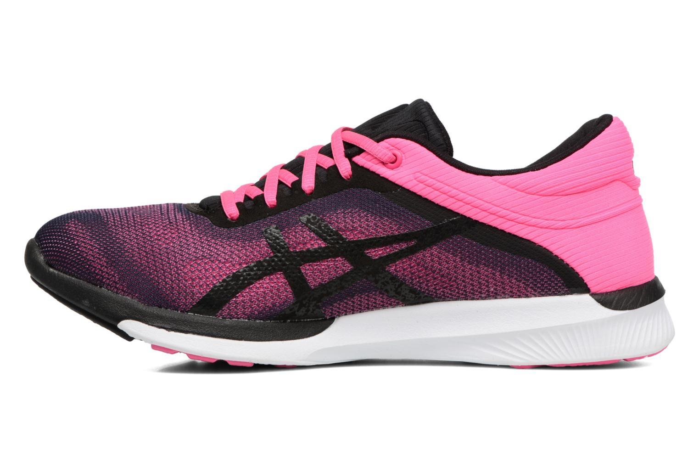 Chaussures de sport Asics Fuzex Rush W Rose vue face