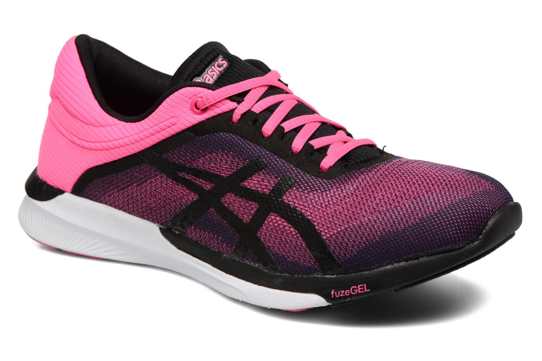 Chaussures de sport Asics Fuzex Rush W Rose vue détail/paire