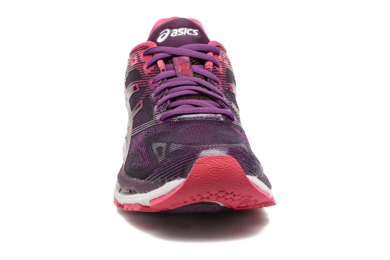 Chaussures de sport Asics Gel-Nimbus 19 W Violet vue portées chaussures