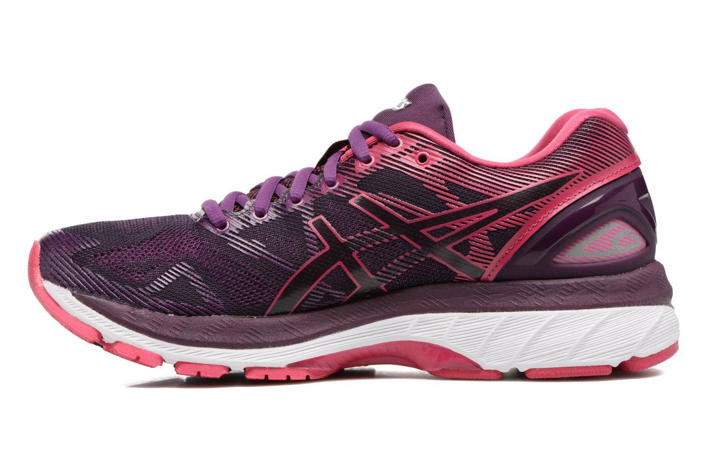 Chaussures de sport Asics Gel-Nimbus 19 W Violet vue face