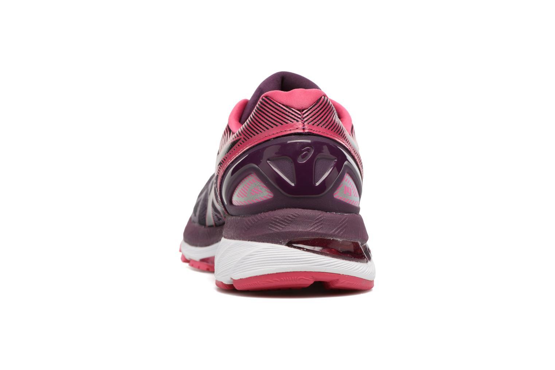 Chaussures de sport Asics Gel-Nimbus 19 W Violet vue droite