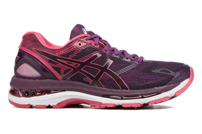 Chaussures de sport Asics Gel-Nimbus 19 W Violet vue derrière
