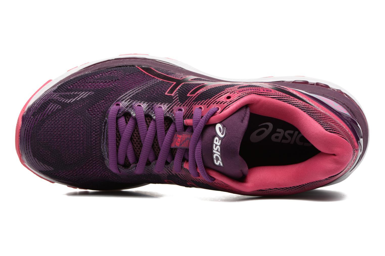 Chaussures de sport Asics Gel-Nimbus 19 W Violet vue gauche