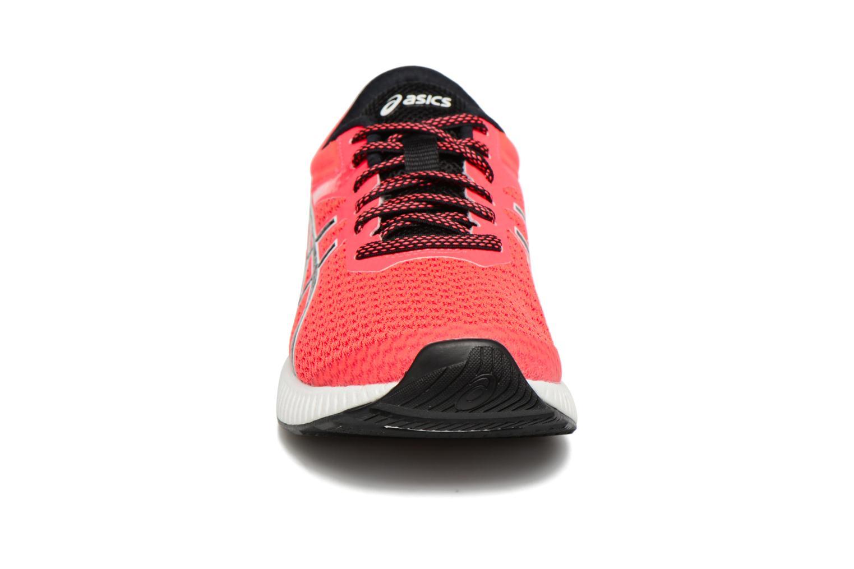 Chaussures de sport Asics Fuzex Lyte 2 W Rouge vue portées chaussures