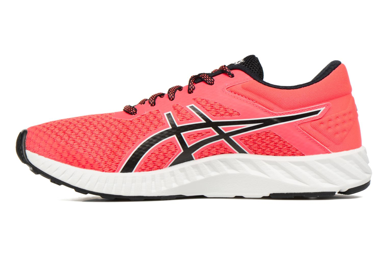 Chaussures de sport Asics Fuzex Lyte 2 W Rouge vue face