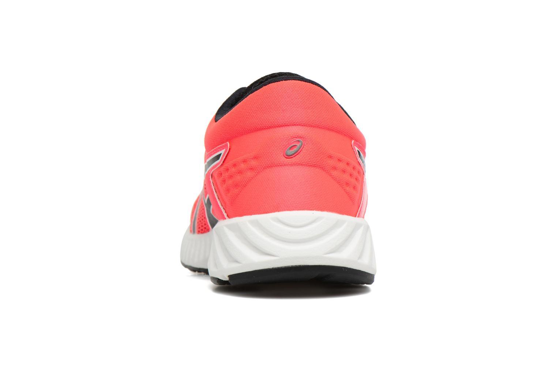 Chaussures de sport Asics Fuzex Lyte 2 W Rouge vue droite
