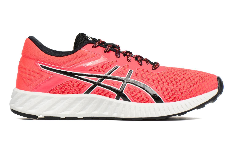 Chaussures de sport Asics Fuzex Lyte 2 W Rouge vue derrière