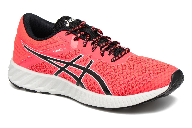 Chaussures de sport Asics Fuzex Lyte 2 W Rouge vue détail/paire