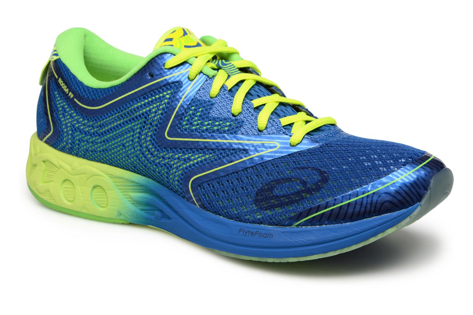 Sport shoes Asics Noosa FF Blue detailed view/ Pair view