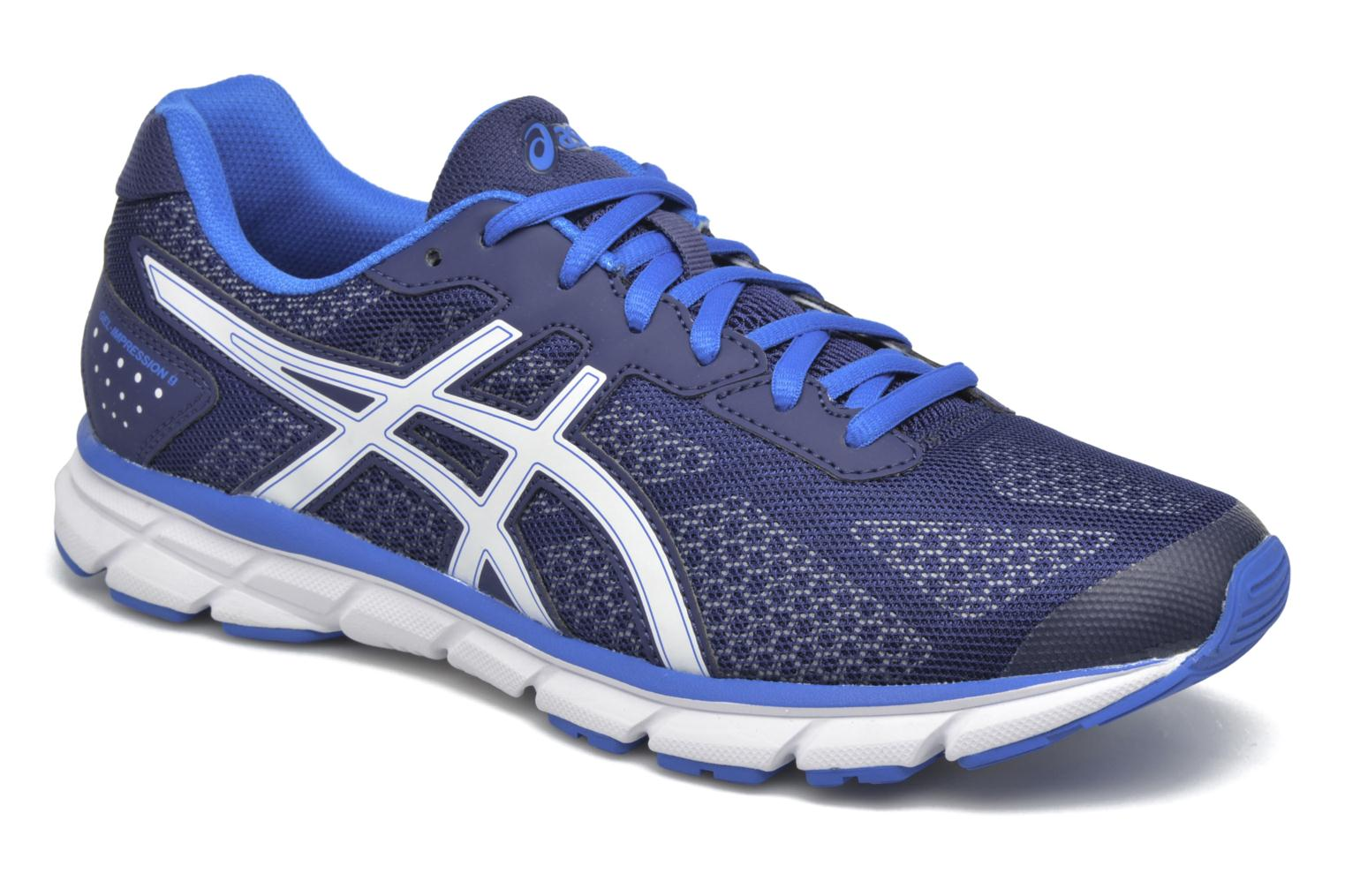 Sport shoes Asics Gel-Impression 9 Blue detailed view/ Pair view