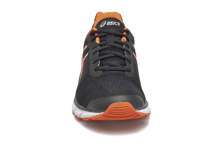 Sportschuhe Asics Gel-Impression 9 schwarz schuhe getragen