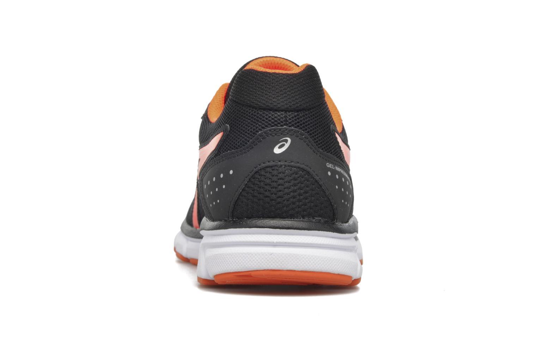 Sportschuhe Asics Gel-Impression 9 schwarz ansicht von rechts