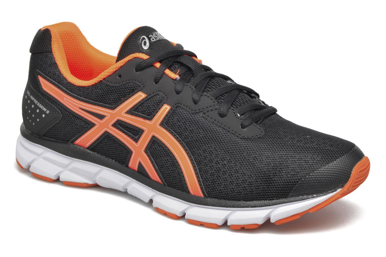 Sport shoes Asics Gel-Impression 9 Black detailed view/ Pair view