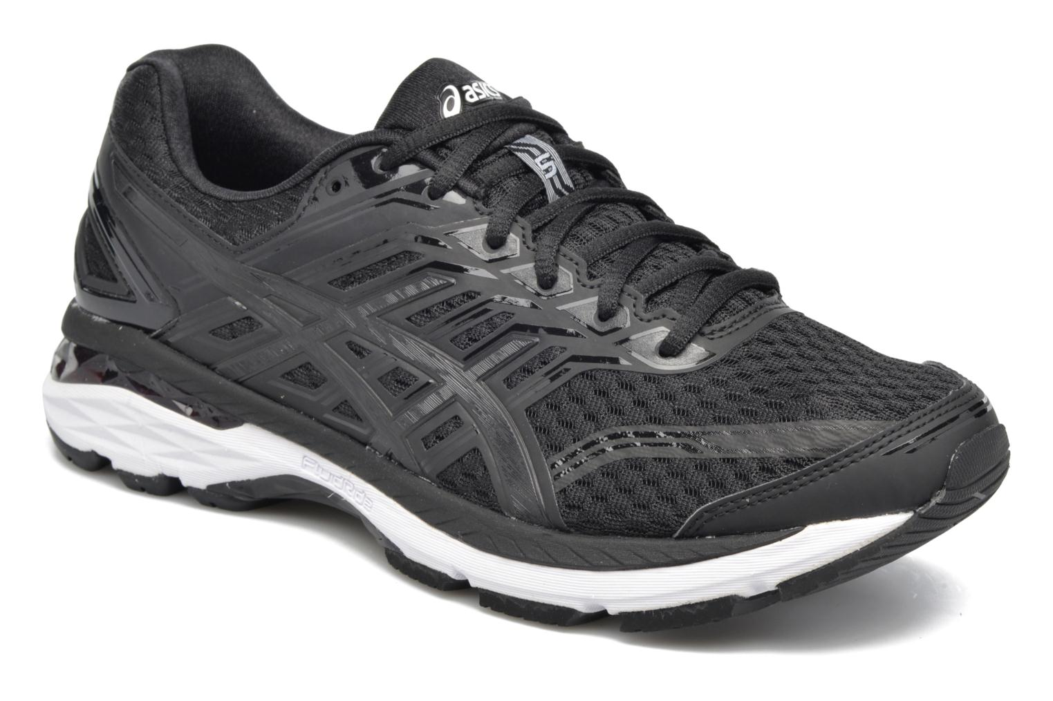 Sport shoes Asics Gt-2000 5 Black detailed view/ Pair view