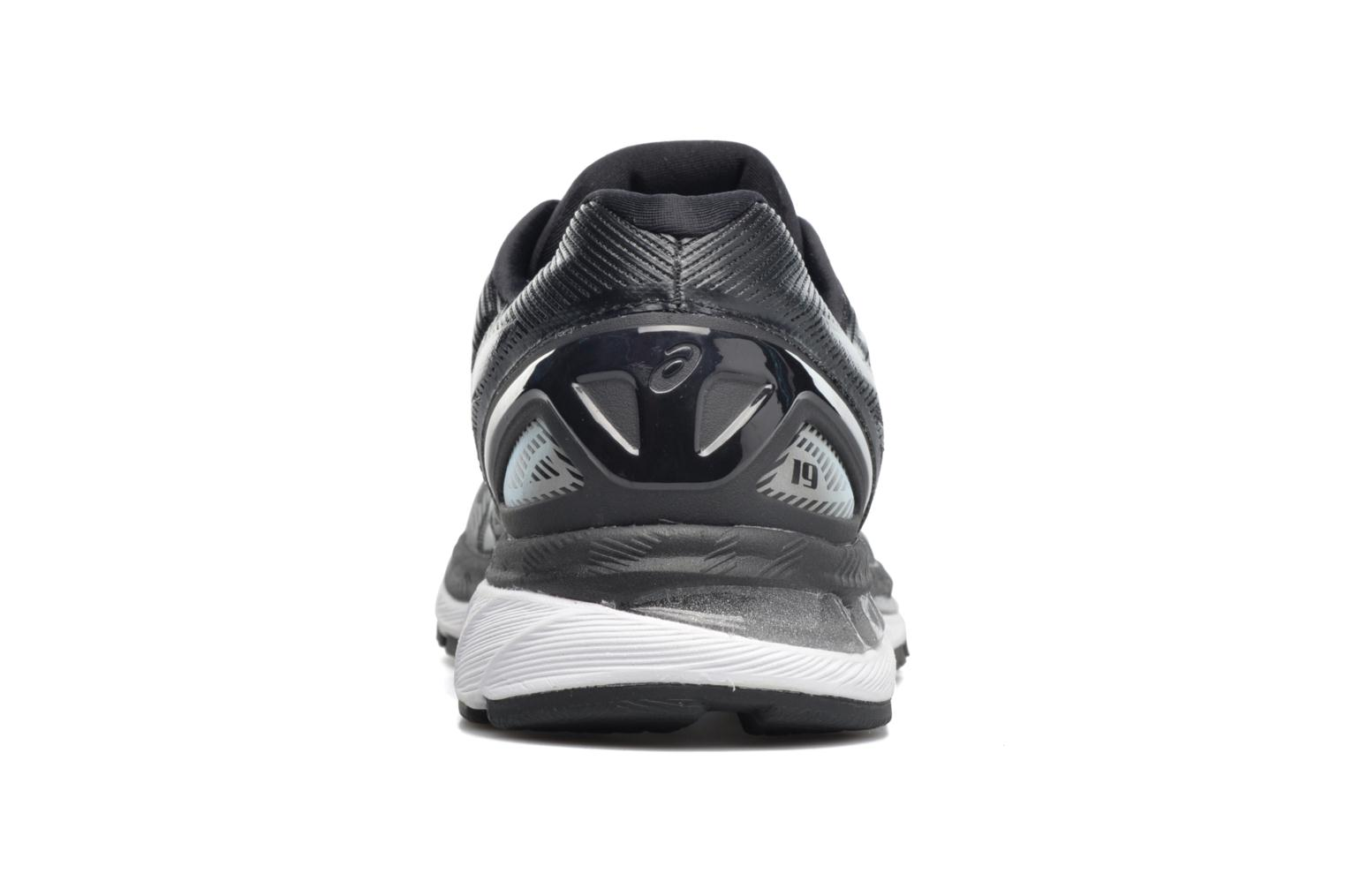 Sport shoes Asics Gel-Nimbus 19 Black view from the right