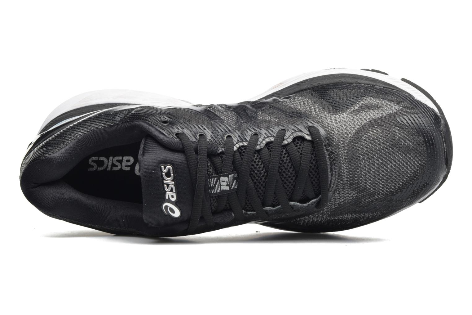 Sport shoes Asics Gel-Nimbus 19 Black view from the left