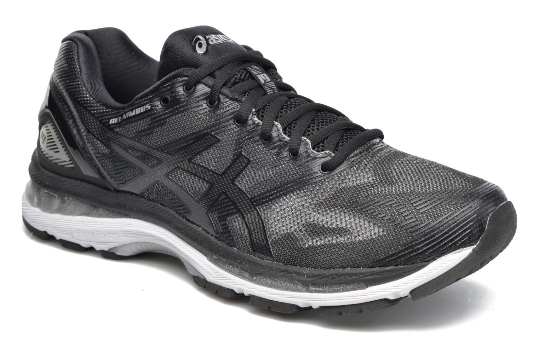Sport shoes Asics Gel-Nimbus 19 Black detailed view/ Pair view