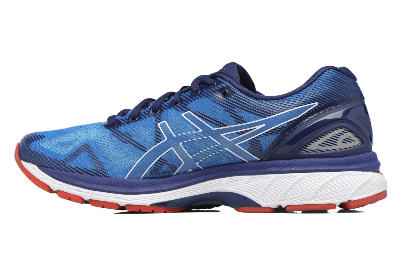 Chaussures de sport Asics Gel-Nimbus 19 Bleu vue face