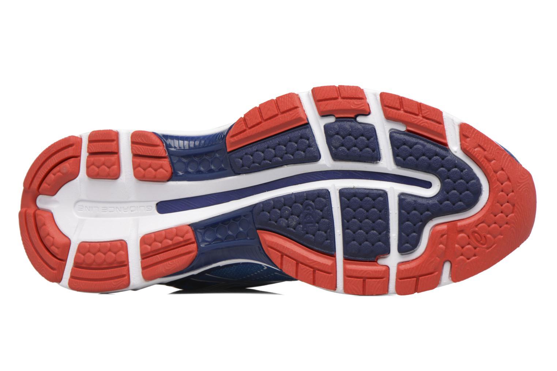 Chaussures de sport Asics Gel-Nimbus 19 Bleu vue haut