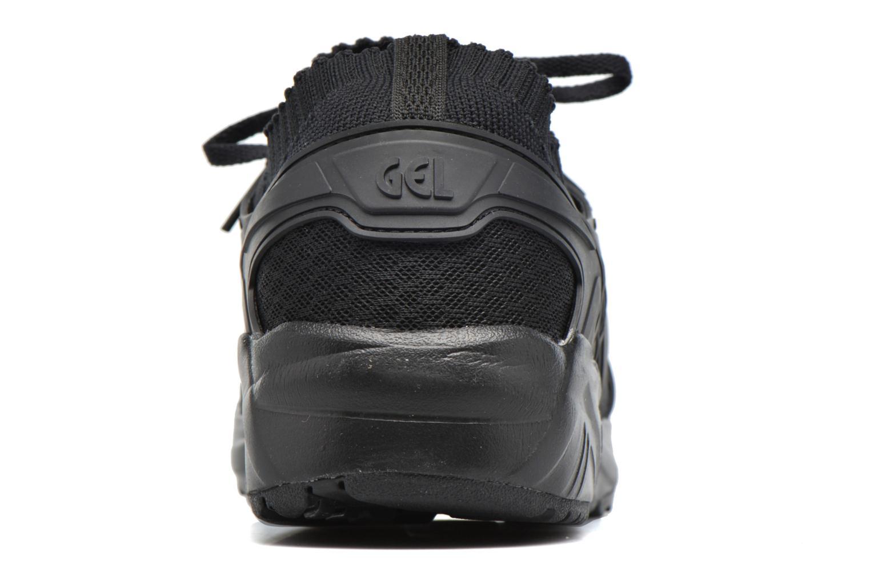 Baskets Asics Gel Kayano Trainer Knit Noir vue droite