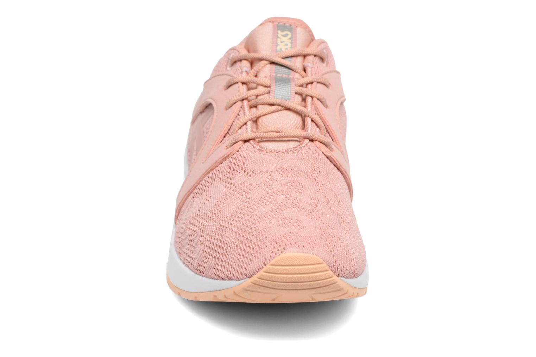 Baskets Asics Gel-Lyte Komachi W Rose vue portées chaussures