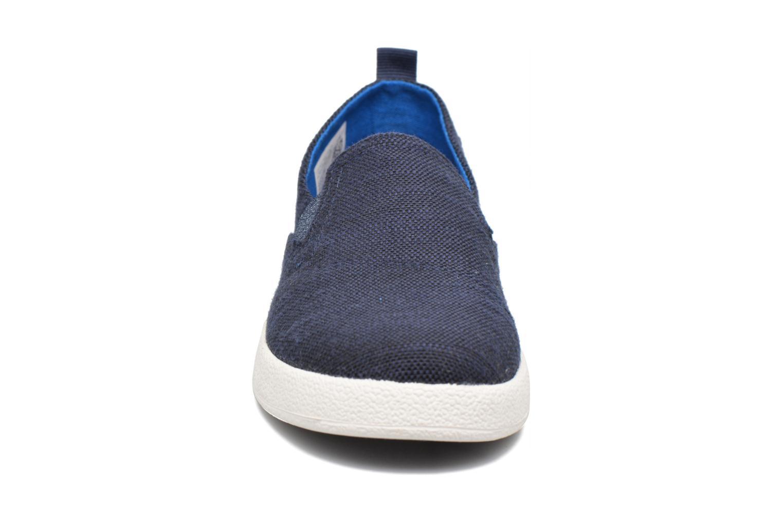 Baskets TOMS Avalon Bleu vue portées chaussures