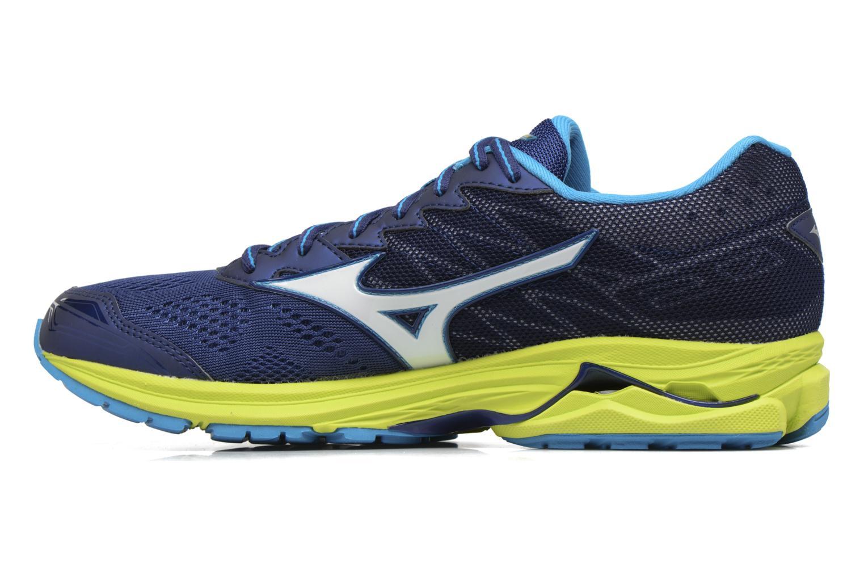 Chaussures de sport Mizuno Wave Rider 20 Bleu vue face