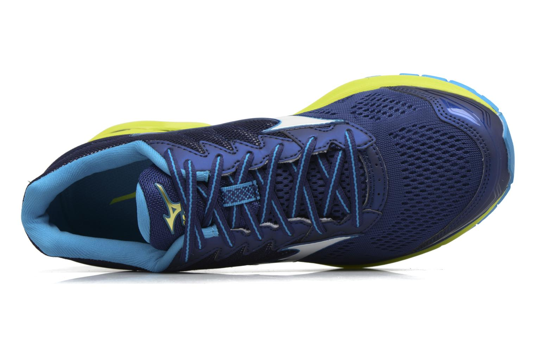 Chaussures de sport Mizuno Wave Rider 20 Bleu vue gauche
