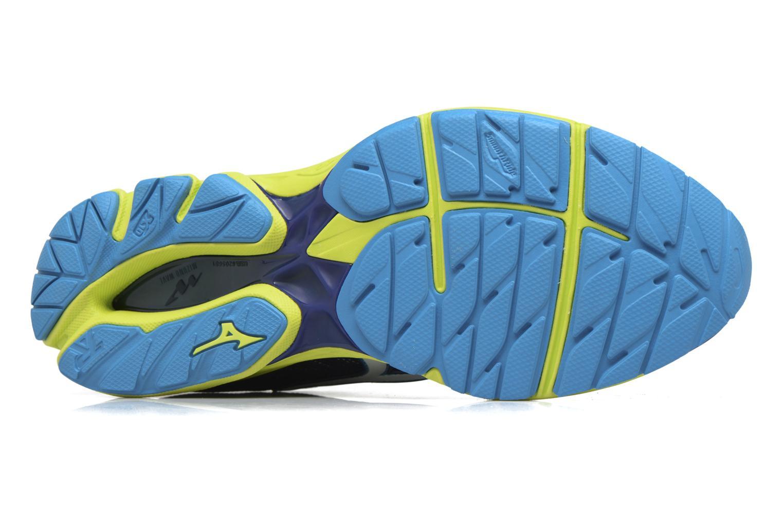 Chaussures de sport Mizuno Wave Rider 20 Bleu vue haut