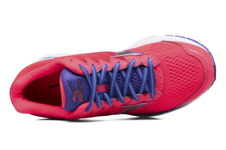 Chaussures de sport Mizuno Wave Rider 20 W Rose vue gauche