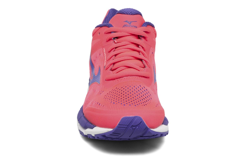 Chaussures de sport Mizuno Mizuno Synchro MX 2 W Rose vue portées chaussures