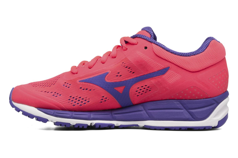 Chaussures de sport Mizuno Mizuno Synchro MX 2 W Rose vue face