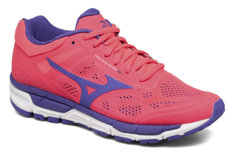 Chaussures de sport Mizuno Mizuno Synchro MX 2 W Rose vue détail/paire