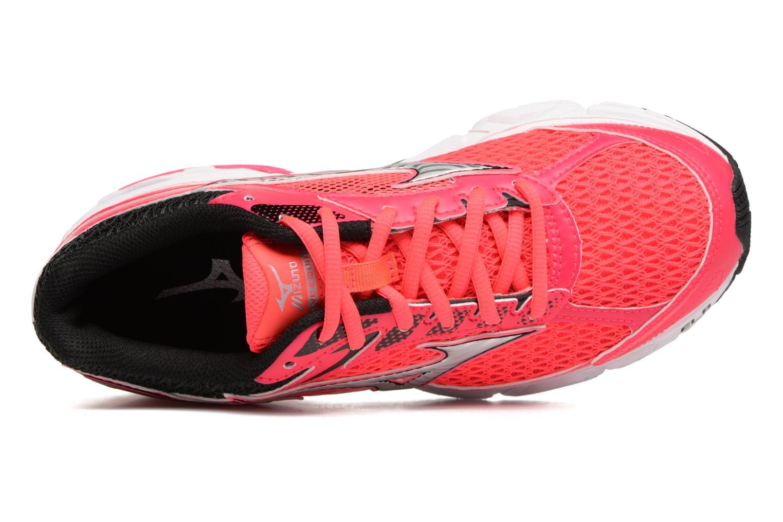 Chaussures de sport Mizuno Wave Equate W Rose vue gauche