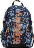 Camo mesh backpack