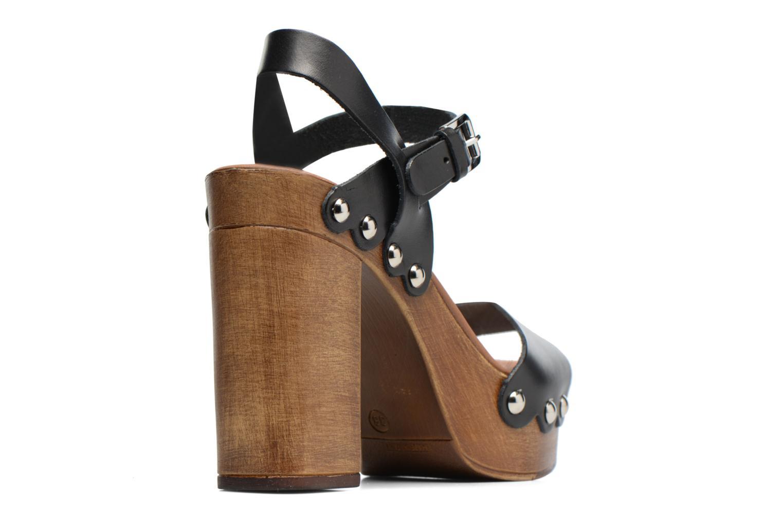 Sandales et nu-pieds Made by SARENZA Tennesse Sister #4 Noir vue face