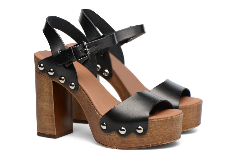 Sandalen Made by SARENZA Tennesse Sister #4 Zwart achterkant