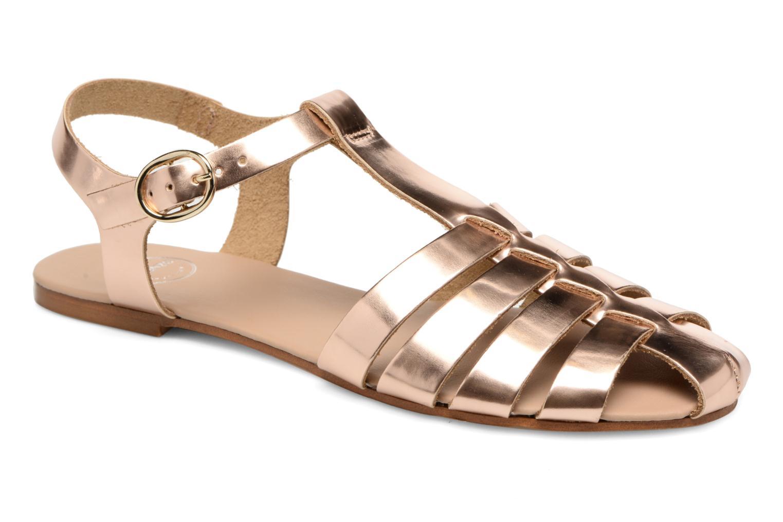 Sandalias Made by SARENZA Pastel Belle #1 Oro y bronce vista lateral derecha