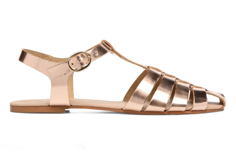 Sandalias Made by SARENZA Pastel Belle #1 Oro y bronce vista de detalle / par