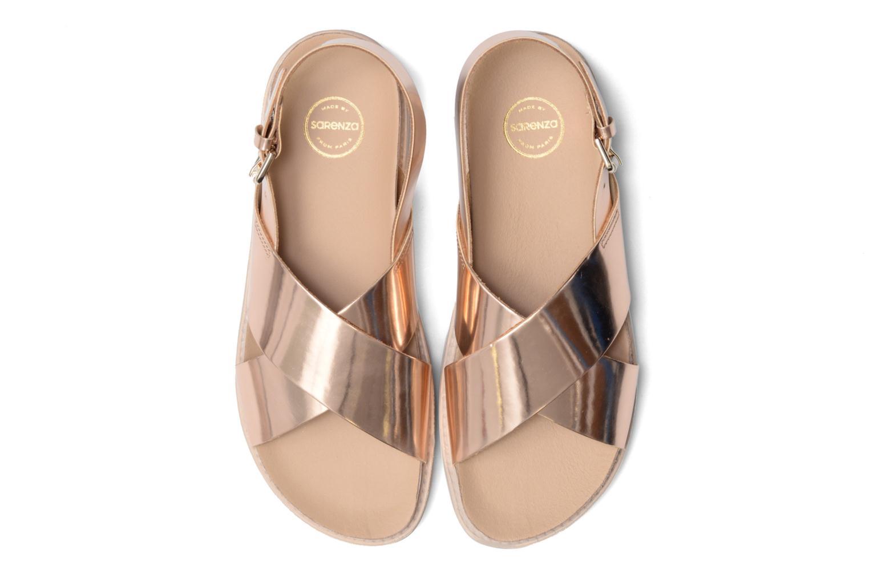 Sandales et nu-pieds Made by SARENZA Pastel Belle #8 Or et bronze vue portées chaussures