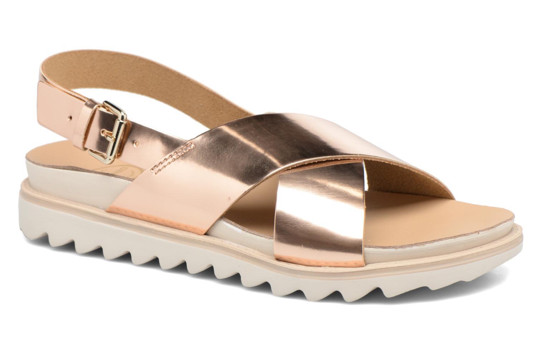 Sandales et nu-pieds Made by SARENZA Pastel Belle #8 Or et bronze vue droite