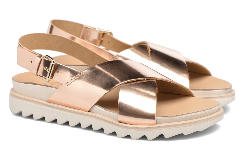 Sandales et nu-pieds Made by SARENZA Pastel Belle #8 Or et bronze vue derrière