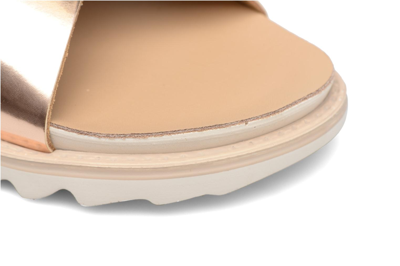 Sandales et nu-pieds Made by SARENZA Pastel Belle #8 Or et bronze vue gauche